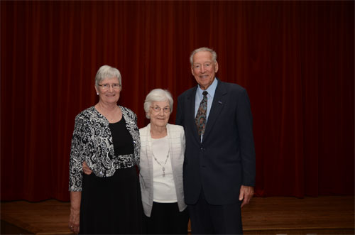 Photo of Dianne, Bob, and Dianne's mom
