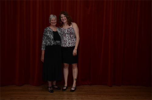 Photo of Diane and granddaughter